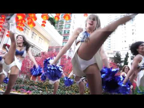Indianapolis Colts Cheerleaders @ 2016 Hong Kong - Chinese New Year Parade