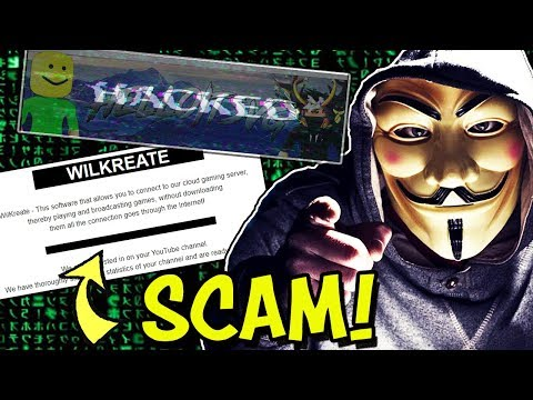 YouTubers Getting Hacked, And Here's How - Wilkreate Scam! - RIP HelloItsVG & More