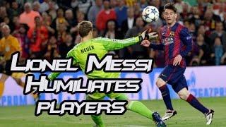 Kaka Nutmeg Messi