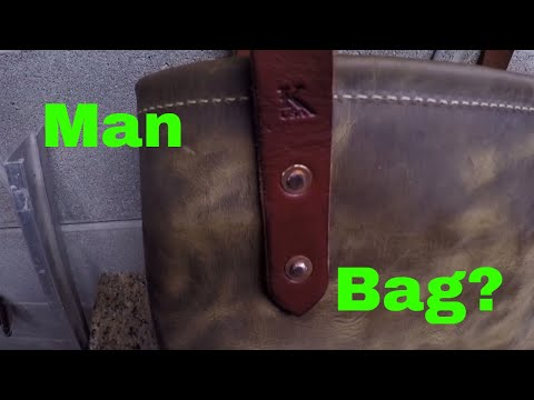Making A Heavy Duty Leather Tote Bag