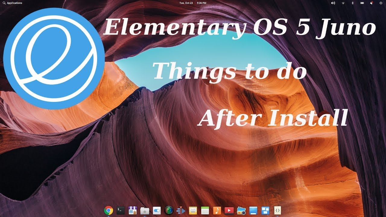 Things To Do After Installing Elementary OS 5 Juno