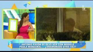 Karen Schwarz imita la sensual despedida de amiguita de Antonio Pavón