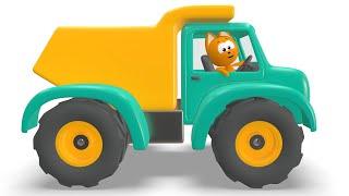 МАШИНКИ БИ БИ Котёнок Котэ Развивающая веселая детская песенка мультик малышей про разные машины