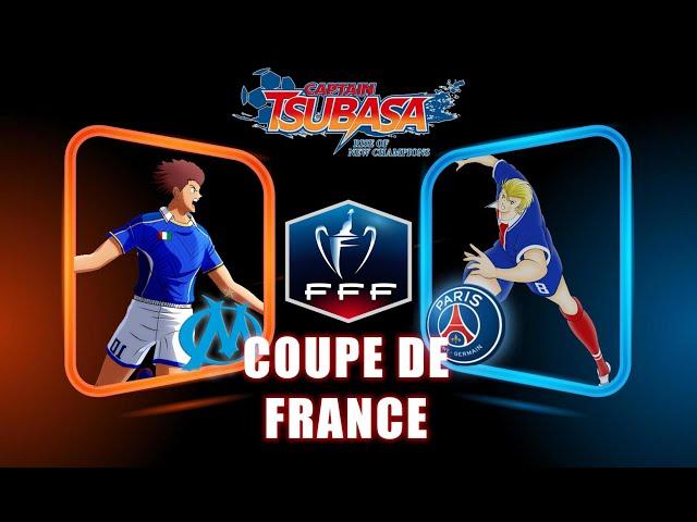 PSG VS OM - COUPE DE FRANCE | CAPTAIN TSUBASA RISE OF NEW CHAMPIONS