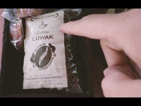 sampling the rarest coffee in the world, kopi luwak [vlog]