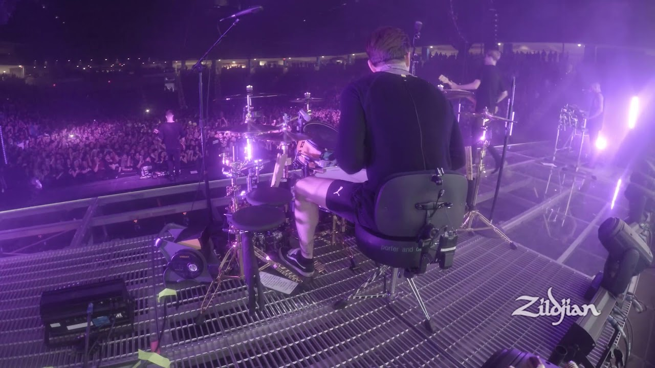Zildjian Performance Mat Nicholls Plays Throne Youtube