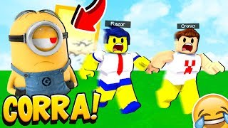 WE PLAY CATCH-UP WITH MINIONS ON ROBLOX