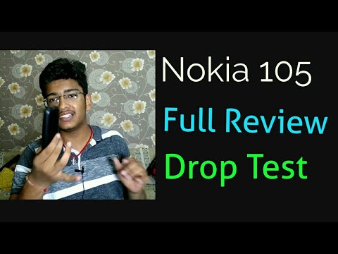 Nokia 105 | Full Review | drop test | after 7 days | in Hindi | by Arsh Chhajer | ACTN