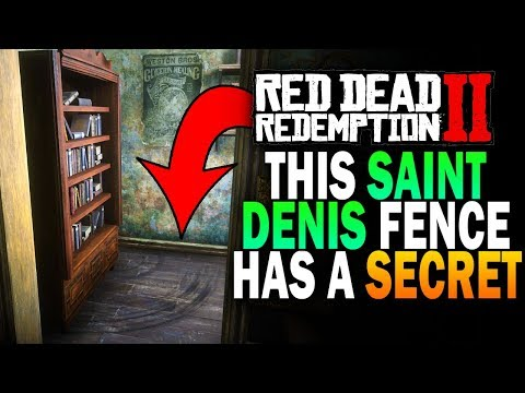 The Saint Denis Fence Has a Secret! Whats Behind The door? Red Dead Redemption 2 [RDR2]