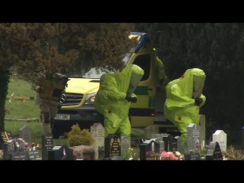 Cemetery examined as military joins investigation into attack on spy Sergei Skripal | ITV News