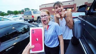 Breaking Peoples Phones, Then Surprising Them With iPhone 11