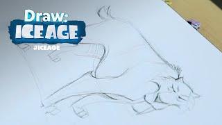 Ice Age | Draw Me: Diego | FOX Family
