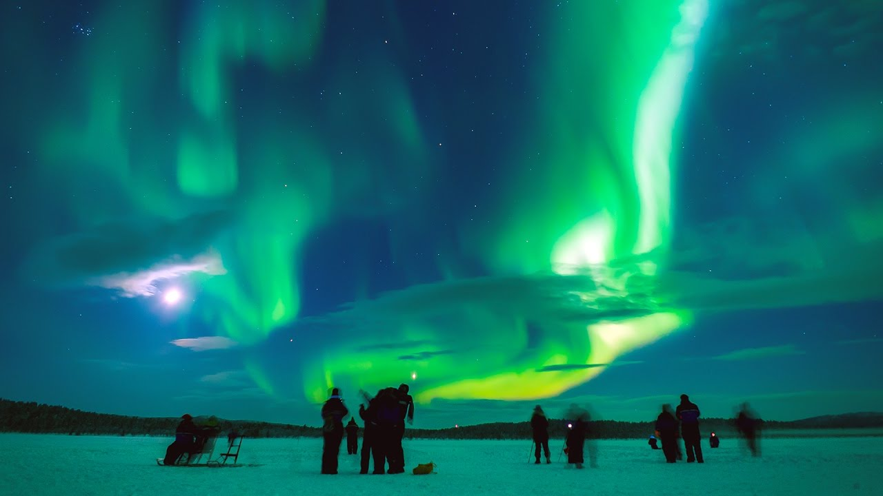 L Aurora Boreale Pi 218 Bella Di Sempre Avventura Artica In
