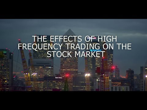 The Effects of High-Frequency Trading on the Stock Market