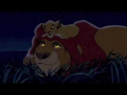 The Lion King - Simba and Mufasa HD...