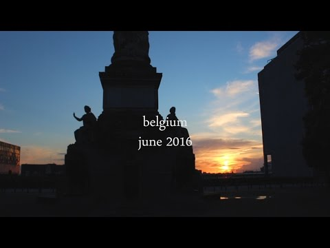 A Trip Around Belgium | Short Travel Film | Study Abroad