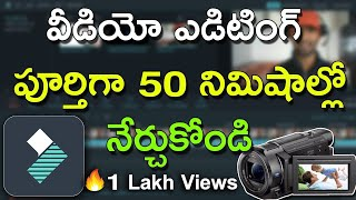 Learn Video Editing with Filmora Software Complete Course in 50 minutes | Best Video Edit Software