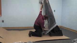 Sole Folding Treadmill Assembly Step 1/8