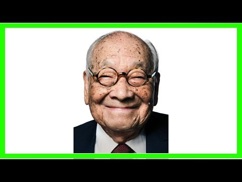 Breaking News | NYR.com: Master Architect I.M. Pei Celebrates His 101st Birthday Today!