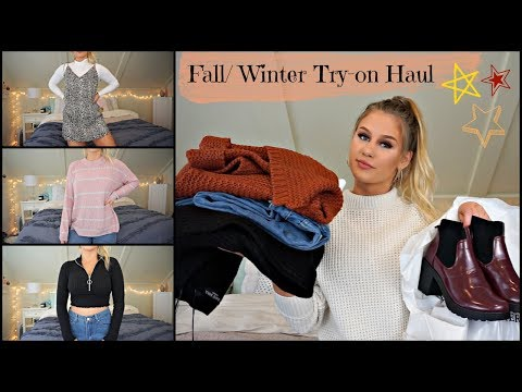 Fall/Winter Try-On Clothing Haul // Boohoo, Princess Polly, Etc.
