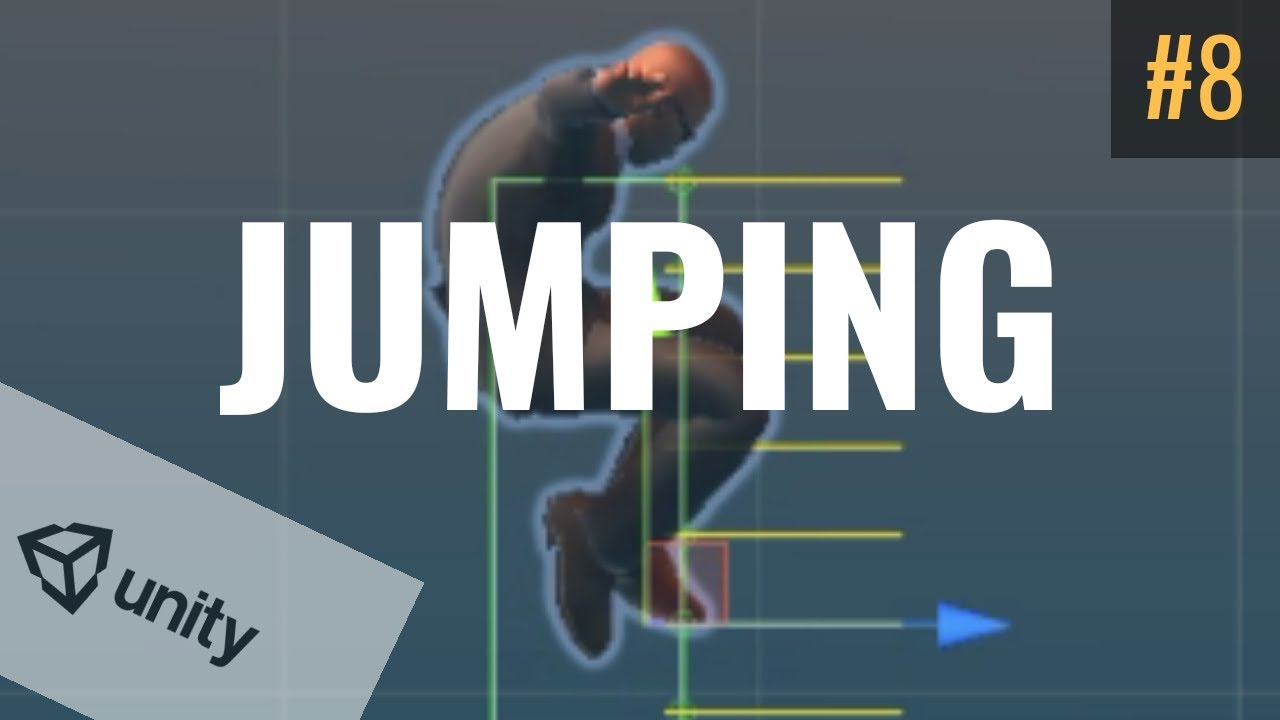 #8 Jumping Physics and Ground Detection | Unity Tutorial