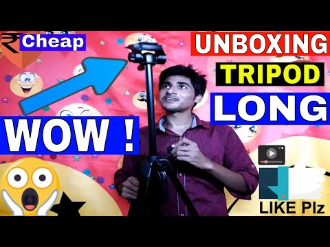 Dslr Camera & Android Mobile Best Tripod Unboxing Digitek DTR 550 LW Tripod in hindi