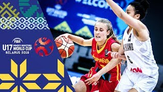 New Zealand v Spain - Full Game - FIBA U17 Women's Basketball World Cup 2018