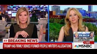 AJ Delgado on MSNBC Oct 18 2017 Video