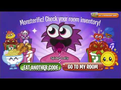 Moshi Monsters Secret Codes for All Items DEC 2013