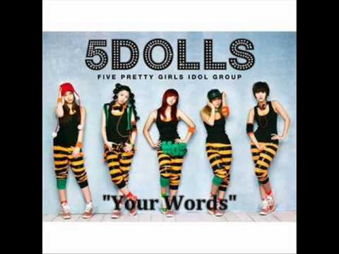 5dolls your words mp3