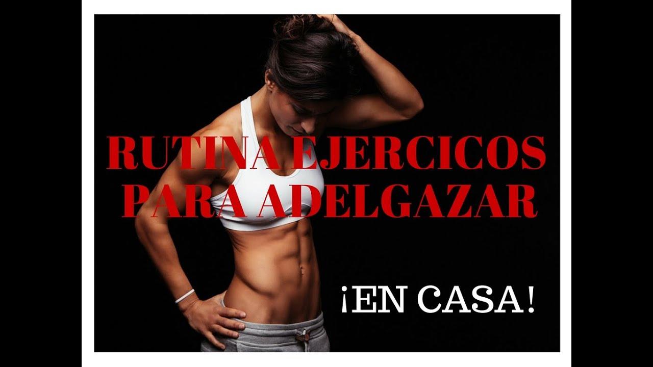 Circuito Hiit En Casa : Rutina de ejercicios para adelgazar en casa hiit youtube