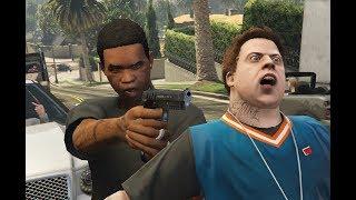 GTA V Lamar kills Jimmy