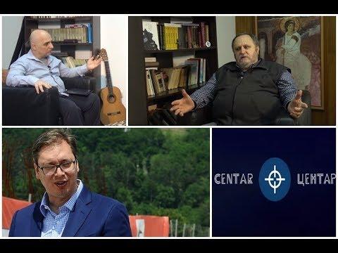 U CENTAR - Milovan Brkić: Vučić je sve luđi i luđi, on je deo projekta uperenog protiv Srbije