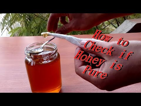 How to check if Honey is Pure