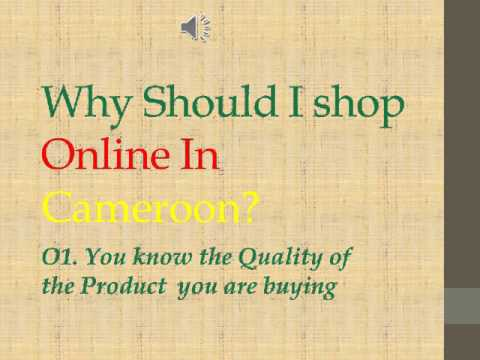 Why Should I shop Online In Cameroon