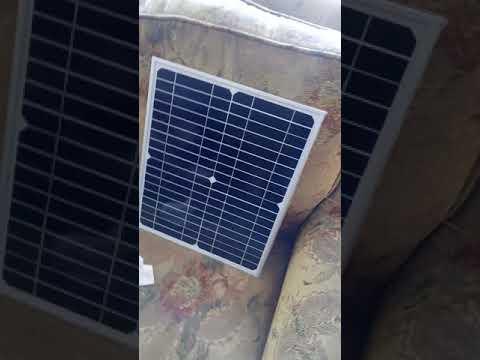 20 w  18v luk monokristal solar panel