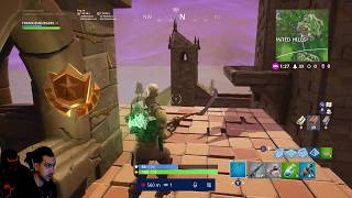 WEEK 5 SECRET BATTLE STAR LOCATION AT HAUNTED HILLS FORTNITE