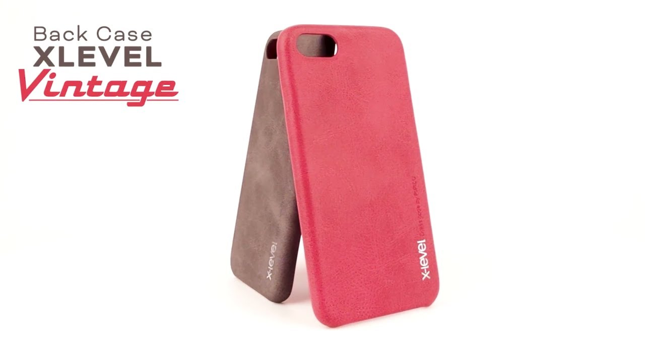 new product 78f52 978e6 Back Case XLEVEL VINTAGE