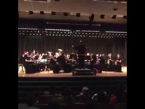 Symphonic Band from Ruben Dario Middle School