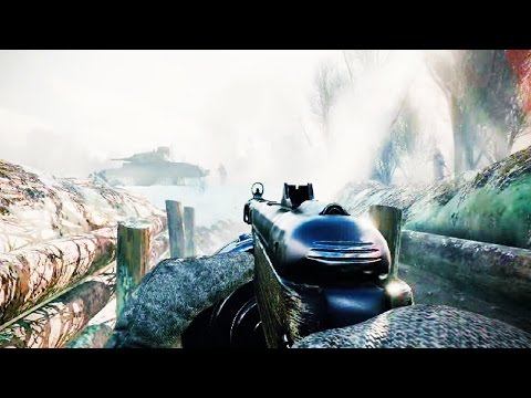 ENLISTED Gameplay Teaser Trailer - NEW WW2 FPS Game 2017