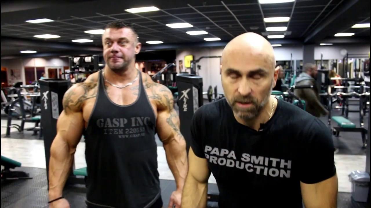 Тренировка спины Папы Смита с Михаилом Сидорычевым