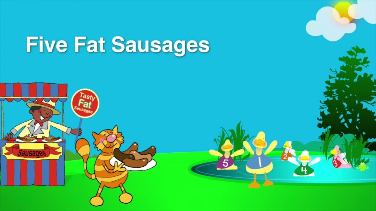 Kidzone - Five Fat Sausages - YouTube