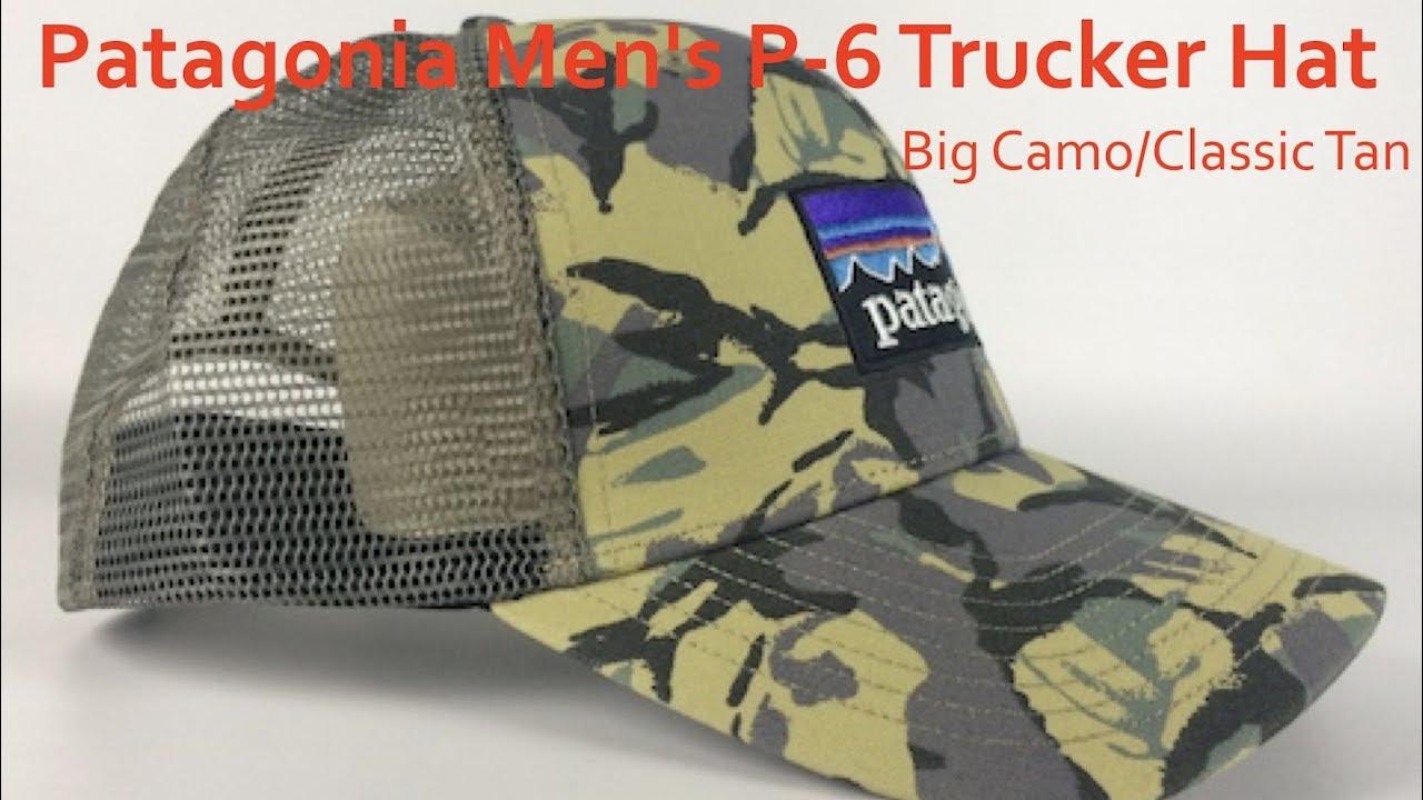 Patagonia Men s P 6 Trucker Hat  4bfdad9dedd