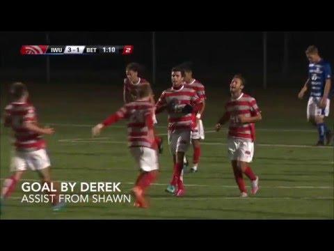 Indiana Wesleyan University Men's Soccer 2015 Highlight Reel