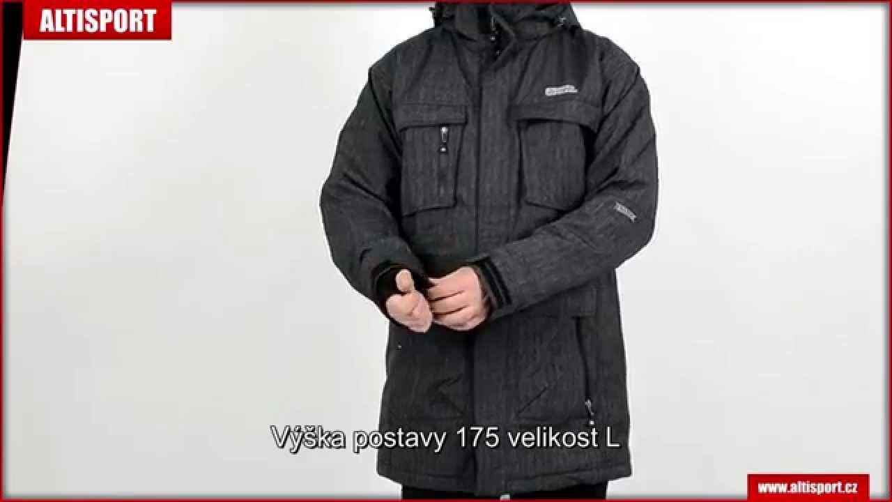 lowest price 00770 cd41f pánská zimní parka nordblanc urban nbwjm4506b černá