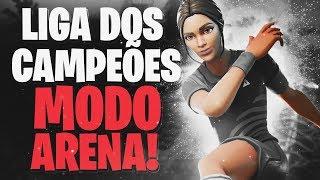 FIZ 250 PONTOS EM 1 DIA NO MODO ARENA! | FORTNITE