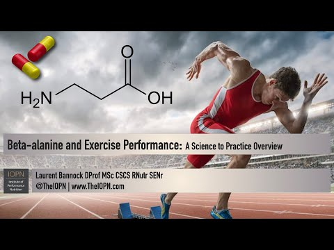 Beta Alanine and Exercise Performance: A Science to Practice Overview