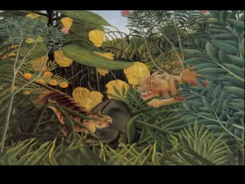 other projects - henri rousseau paintings animated