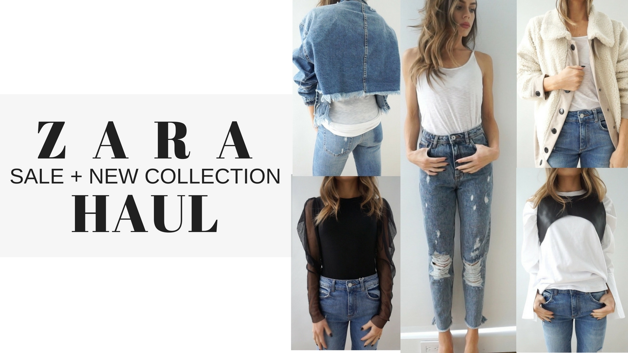 f66466a4 ZARA Sale + New Collection Haul & Try On 2017 - YouTube