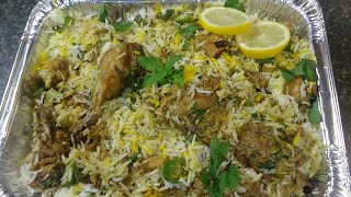 hyderabadi chicken  biryani (easy and delicious)
